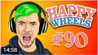 JETPACK JACK   Happy Wheels - Part 90