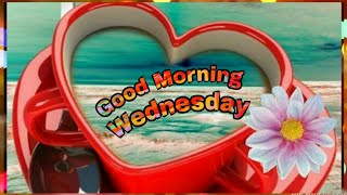 Happy Wednesday/Good Morning Wishes, Greetings, WhatsApp Status Video, SMS, Quotes, Blessings Images