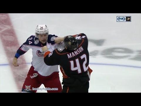 Josh Manson vs. Josh Anderson