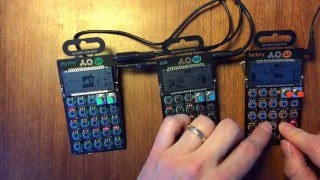 """Last nite"" by the Strokes on Pocket operators"