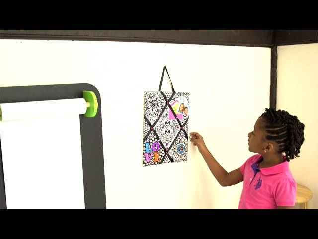 Color A Memo Board Kit