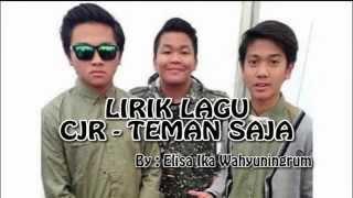Download lagu Cjr Teman Saja Mp3
