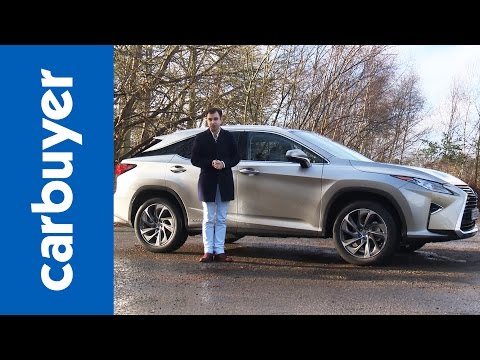 Lexus RX SUV 2016 review - Carbuyer
