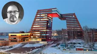 Путин в Академгородке увидит здания Лаптева