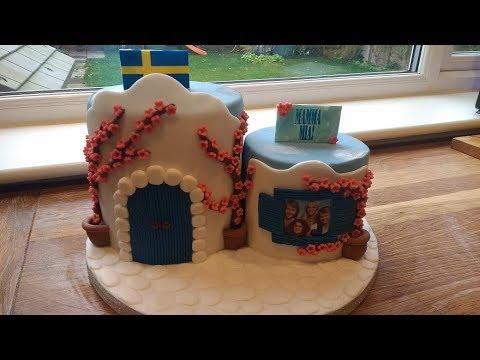 Mamma Mia / ABBA inspired cake .... how to