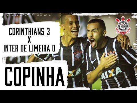 Corinthians 3x0 Inter de Limeira (Copinha) - Melhores momentos