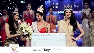 Jhataleka Malhotra Miss India International 2014 Crowning Moment