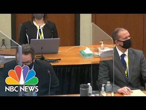 Judge Rejects Attorney's Request To Bring George Floyd's Prior Arrests Into Evidence | NBC News NOW