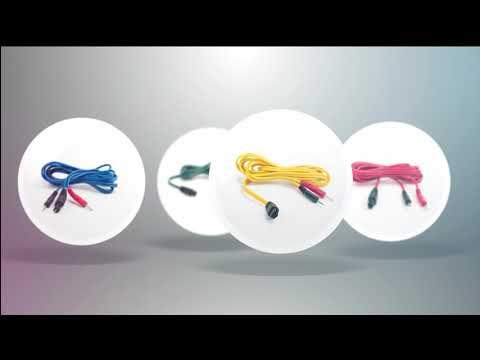 Compex Cihaz Uyumlu Elektroterapi Kablosu
