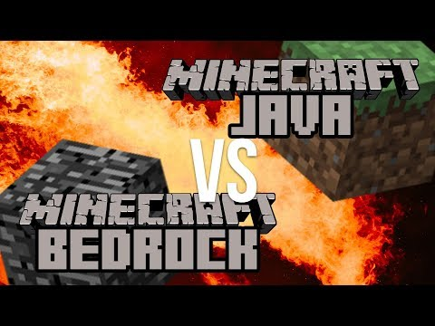 Minecraft Java vs Bedrock Edition: What's Different??