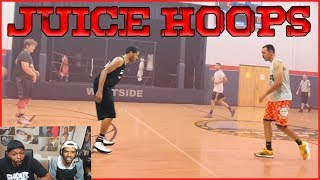 Juice Goes Back And Forth With The Other Team's Best Player, See What Happens!  (Juice Hoops Ep.8)