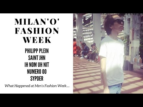 THE BEST OF MILAN FASHION WEEK MENSWEAR COLLECTIONS SS 2018