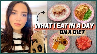 what i eat in a day on a diet -3- ☕ ww plan