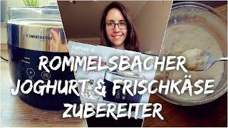 ROMMELSBACHER Joghurt & Frischkäsezubereiter UNBOXING + LIVE TEST    MICEKÖRNCHEN