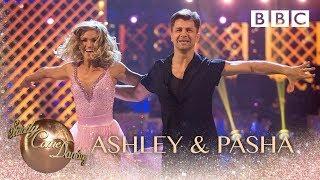 Ashley Roberts & Pasha Kovalev Salsa to '(I've Had) The Time Of My Life' - BBC Strictly 2018