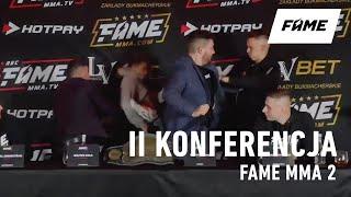 FAME MMA 2: II Konferencja (powtórka)