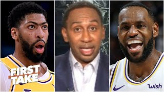Do the Lakers have a better shot at a title since having a hiatus? Stephen A. says yes | First Take