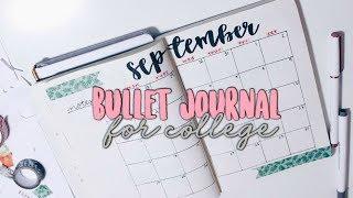 Bullet Journal - Planning For College! | Reese Regan