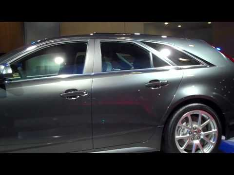 Cadillac CTS unveiled
