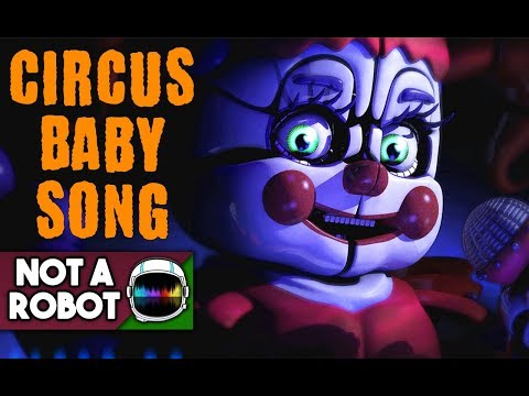 """CIRCUS BABY SONG """"NEVER COMING HOME""""  (FNAF Sister Location) [NotARobot]"""