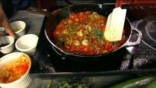 "Chef Ausar Prepares Spiralized Vegetable Pasta Primavera on CBS 6  ""Virginia This Morning"""