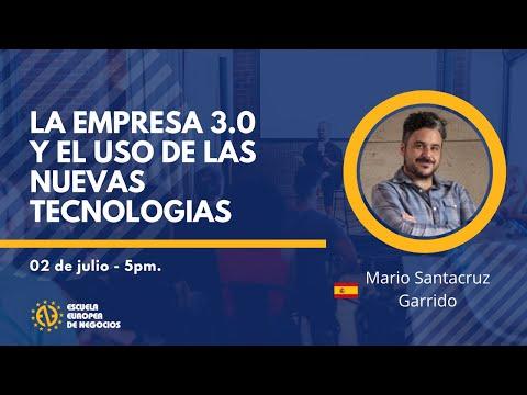 , title : 'La empresa 3.0 y el uso de las nuevas tecnologías'
