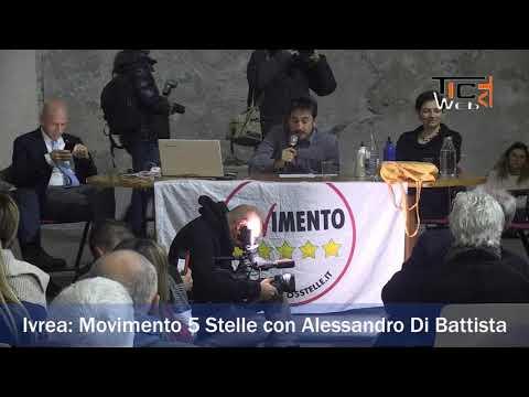 Preview video Ivrea Movimento 5 Stelle con Alessandro Di Battista