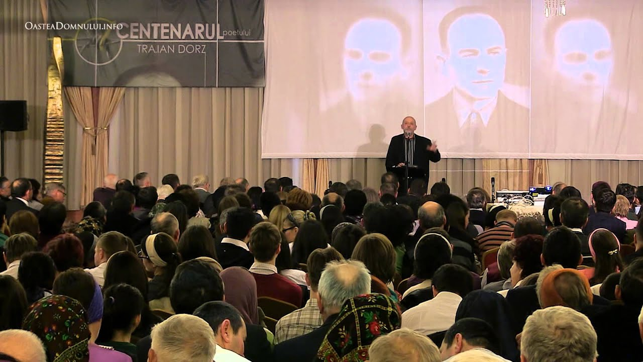 conf. univ. dr. András VIȘKY – Cluj-Napoca – Centenar Traian Dorz