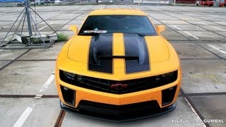 Chevrolet Camaro Transformers BumbleBee Edition - SOUND!