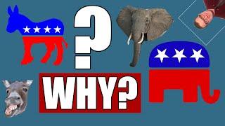Donkey & Elephant!? | History Of The Political Party Symbols