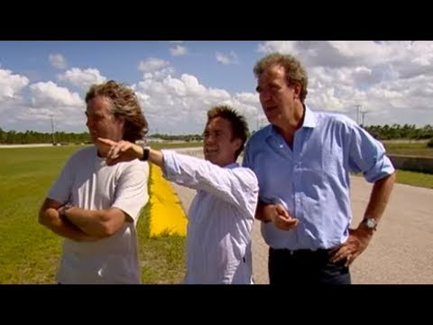 US Road Trip   Lap & Braking challenge   Top Gear