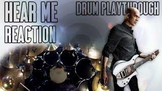 DEVIN TOWNSEND   Hear Me (66Samus Drum Playthrough) REACTION!!