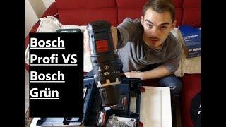Unboxing (Bosch PSR 14,4 li 2 Im Vergleich mit dem Bosch professional GSB 18 V-Li )