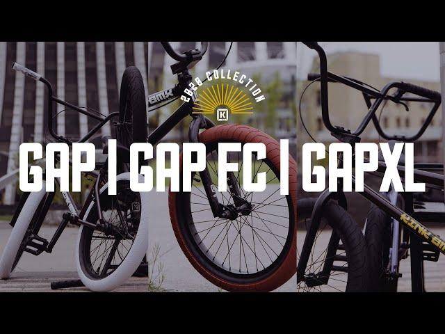 Видео Велосипед KINK Gap FC сине-черный