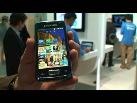 CNET.de - MWC 2010: Samsung Beam I8520: Smartphone mit Projektor und Android 2.1