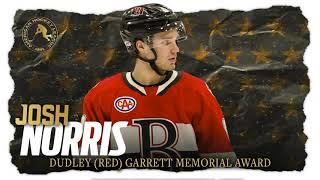 2019-20 Garrett Award: Josh Norris