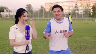 """23-iyun """"Milliy""""  Stadionimizda """"Futbol Olimpic DAY """" Yulduzlarga qarshi ZO'RTV boshlovchilari!"""