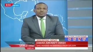 Breaking News: Aircraft enroute to Kabarak crashes in Kibera leaving three journalists injured