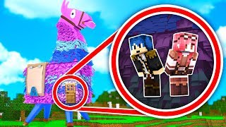 Minecraft ITA - VIVIAMO DENTRO IL LAMA GIGANTE DI FORTNITE!!