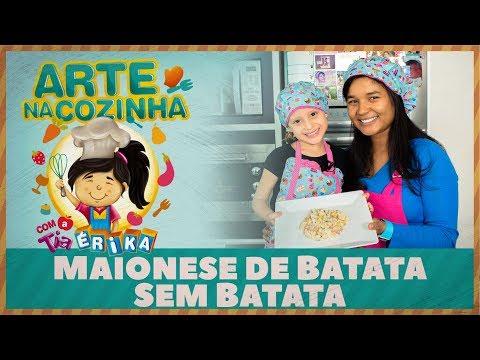 MAIONESE DE BATATA SEM BATATA | Especial de férias com a Tia Érika