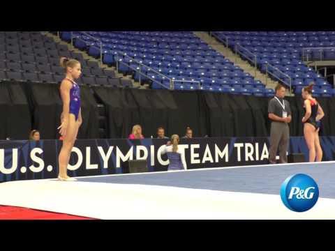Ragan Smith - Floor Exercise - 2016 P&G Gymnastics Championships - Podium