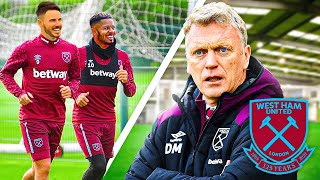 WE TRAINED WITH WEST HAM FIRST TEAM! 😳😱🔥