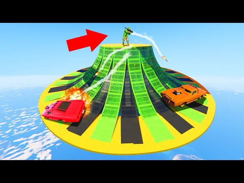 Extreme RPG's Vs. Muscle Car DERBY! (GTA 5 Funny Moments)