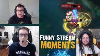 Bjergsen ONE SHOTS KEANE | Scarra INSANE ESCAPE AND TRIPLE KILL | Tyler1 | Stream Moments