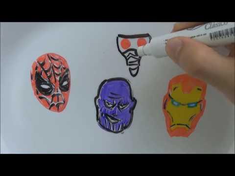 Reescribiendo Avengers Infinity War Parodia Dibujos Que Cobran Vida