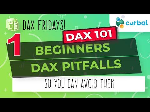 #1 DAX Fridays! 101: The basics of the DAX Language - YouTube