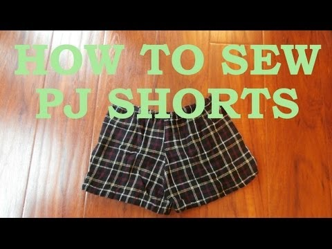 DIY: How to Sew Pajama Shorts