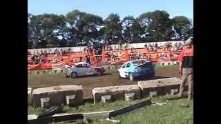 preview picture of video 'Orillia Fall Fair 2014 Demolition derby'