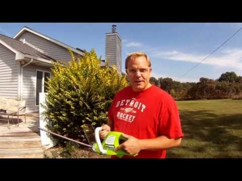 Hedge Trimmer Review – GreenWorks 22112 22-Inch 4.0 Amp Electric Dual Action Hedge Trimmer