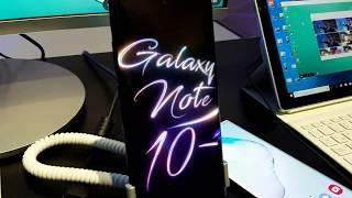 Características del Nuevo Samsung Desk con el Note10 o Note10 Plus